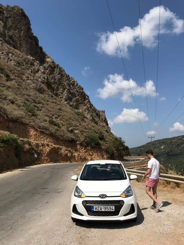 hire economy car in Crete